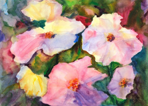 Flowers    Watercolor Original/Prints Available