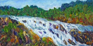 Great Falls   Oil Original/Prints Available