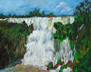 Iguazu Falls  Acrylic Original/Prints Available