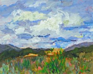 New Mexico Sky   Acrylic Original/Prints Available