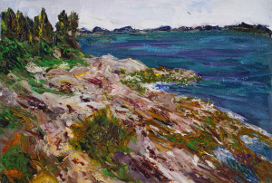 Pemaquid Point  Oil Original/Prints Available