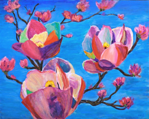 Spring Is Here!   Acrylic Original/Prints Available